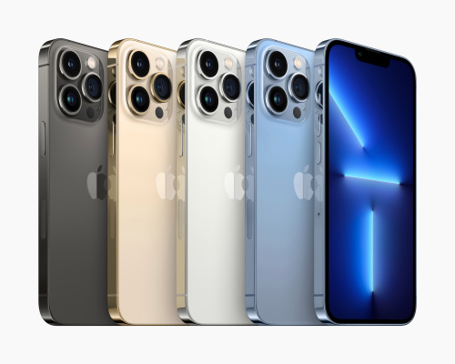 the-iphone-13-pro-and-pro-max-features-120hz-display,-better-cameras